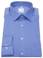Hemd - Tendenz Modern Fit - Chambray - blau
