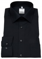 Hemd - Luxor Comfort Fit - New Kent Kragen - schwarz