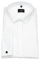 Smokinghemd - Modern Fit - Kläppchenkragen - UMA - weiß