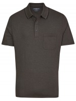 Poloshirt - Regular Fit - anthrazit