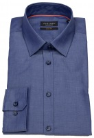 Hemd - Slim Fit - Chambray - blau
