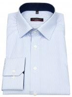 Hemd - Modern Fit - Streifen - hellblau / weiß
