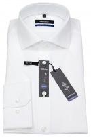 Hemd -Tailored Fit - Haifischkragen - weiß