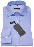 Hemd - Modern Fit - Fein Oxford - blau