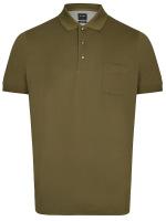 Poloshirt - Casual Fit - Piqué - olivgrün