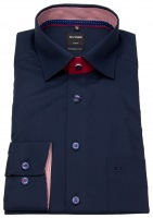 Hemd - Luxor Modern Fit - Under Button Down - dunkelblau