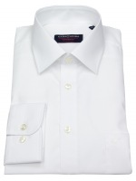 Hemd - Comfort Fit - weiß - extra langer Arm 69cm