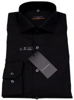 Hemd - Slim Fit - stark tailliert - schwarz