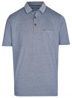 Poloshirt - Regular Fit - blau