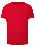 Level Five Body Fit - T-Shirt - Rundhals-Ausschnitt - rot