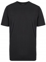 T-Shirt Doppelpack - Modern Fit - Rundhals - schwarz