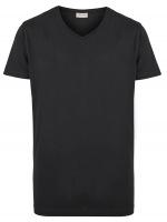 T-Shirt Doppelpack - V-Neck - schwarz