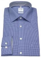 Hemd - Luxor Comfort Fit - Check - blau / weiß