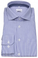 Hemd - Regular Fit - Hai - Streifen - blau / weiß - 70cm Arm