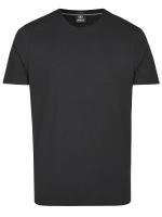 T-Shirt - Regular Fit - Rundahls-Ausschnitt - schwarz