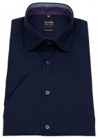 Kurzarmhemd - Level Five - Under Button Down - dunkelblau