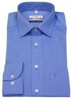 Hemd - Comfort Fit - Chambray - blau