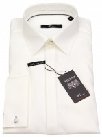Smokinghemd - Slim Fit - UMA - creme - langer Arm 72cm