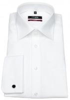 Hemd - Regular Fit - Umschlagmanschette - weiß