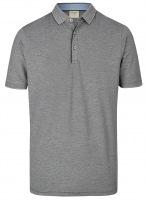 Poloshirt - Level Five Body Fit - Piqué - schwarz / weiß