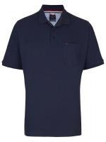 Poloshirt - Premium Cotton - dunkelblau