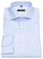 Hemd - Slim Fit - Cover Shirt - extra blickdicht - hellblau