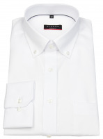 Hemd - Modern Fit - Oxford - Button Down - weiß