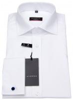 Hemd - Modern Fit - Umschlagmanschette - weiß