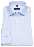Hemd - Modern Fit - Cover Shirt - extra blickdicht - hellblau