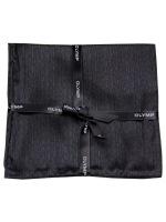 Einstecktuch - Seide - schwarz