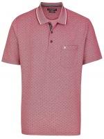 Poloshirt - Print - pflaume