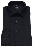 Hemd - Luxor Modern Fit - ohne Brusttasche - schwarz