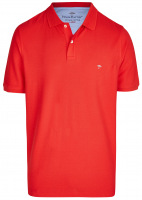 Poloshirt - Casual Fit - Baumwolle - rot