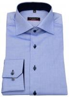 Hemd - Modern Fit - Oxford - Kontrastknöpfe - hellblau