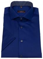 Kurzarmhemd - Modern Fit - Patch - dunkelblau