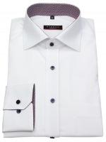 Hemd - Modern Fit - Patch - weiß - langer Arm 68cm