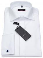 Galahemd - Modern Fit - Umschlagmanschette - weiß