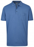 Poloshirt - Casual Fit - Active Dry - blau