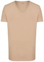 T-Shirt Doppelpack - Modern Fit - V-Neck - caramel