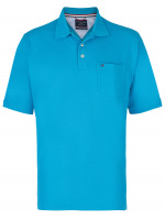 Poloshirt - Pima Cotton - blau