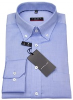 Hemd - Modern Fit - Oxford - Button Down - blau