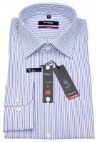 Hemd - Modern Fit - Streifen - blau / weiß