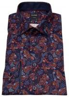 Hemd - Luxor Modern Fit - Print - mehrfarbig