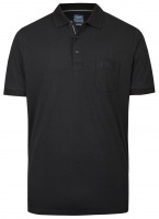 Poloshirt - Casual Fit - Active Dry - schwarz