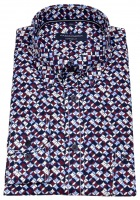 Hemd - Comfort Fit - Under Button Down - Print - mehrfarbig