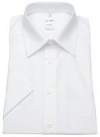Kurzarm Hemd - Tendenz Modern Fit - weiß
