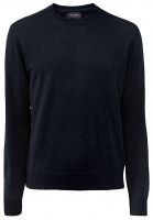 Pullover - Comfort Fit - Rundhals - navy
