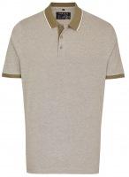Poloshirt - Piqué - graugrün