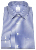 Hemd - Luxor Comfort Fit - Twill - Streifen - blau / weiß