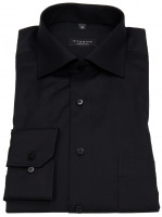 Hemd - Comfort Fit - Cover Shirt - extra blickdicht - schwarz